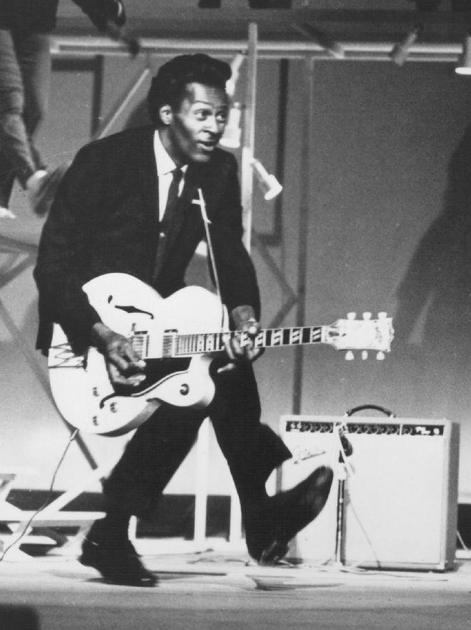 Chuck Berry foi um dos precursores do Rock n' Roll / Foto: Divulgação/soul-patrol.com
