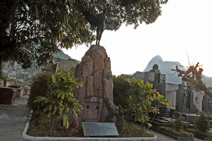 Mausoléu Ícaro está localizado no Cemitério São João Batista, no Rio de Janeiro / Foto: Fabio Motta/AE