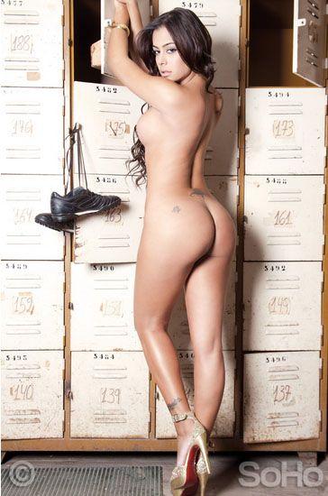 Larissa Riquelme em ensaio para a revista Soho / Foto: Reprodução/Soho