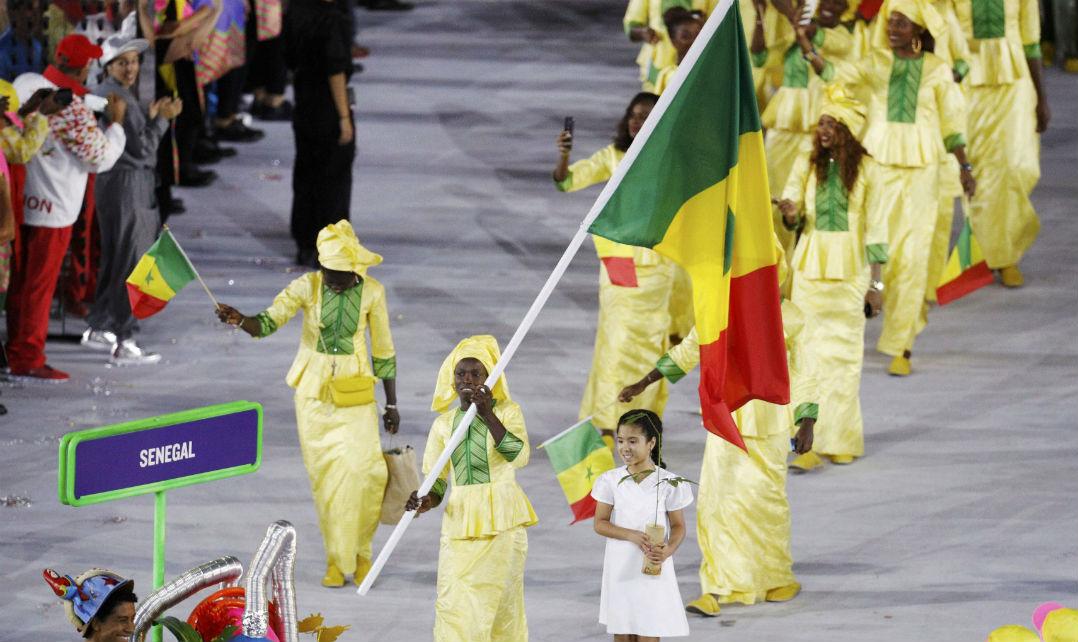 Senegal foi mais um país africano a colorir o Maracanã
