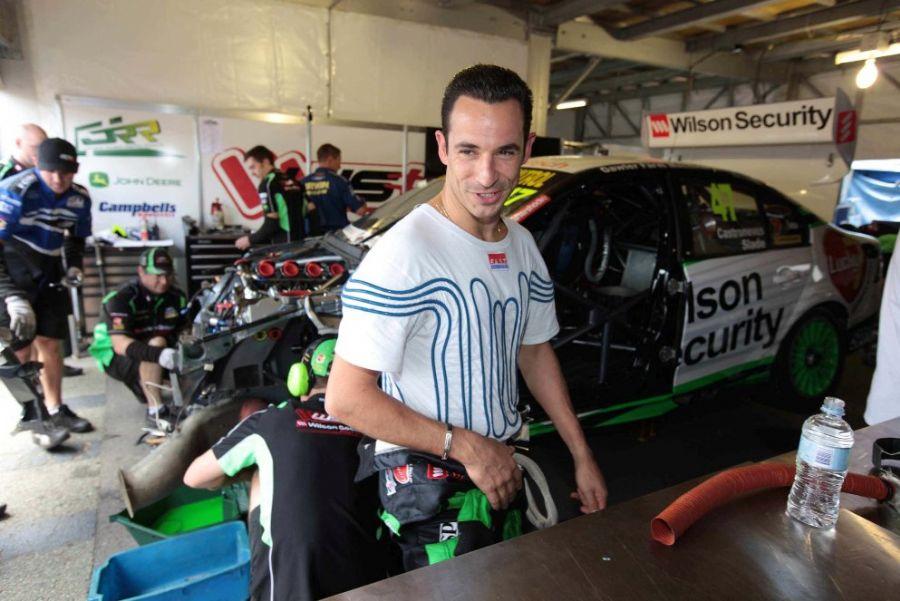 Castroneves repetirá a parceria de 2010 e correrá mais uma vez ao lado do australiano Tim Slade / Divulgação/Stone Brothers Racing