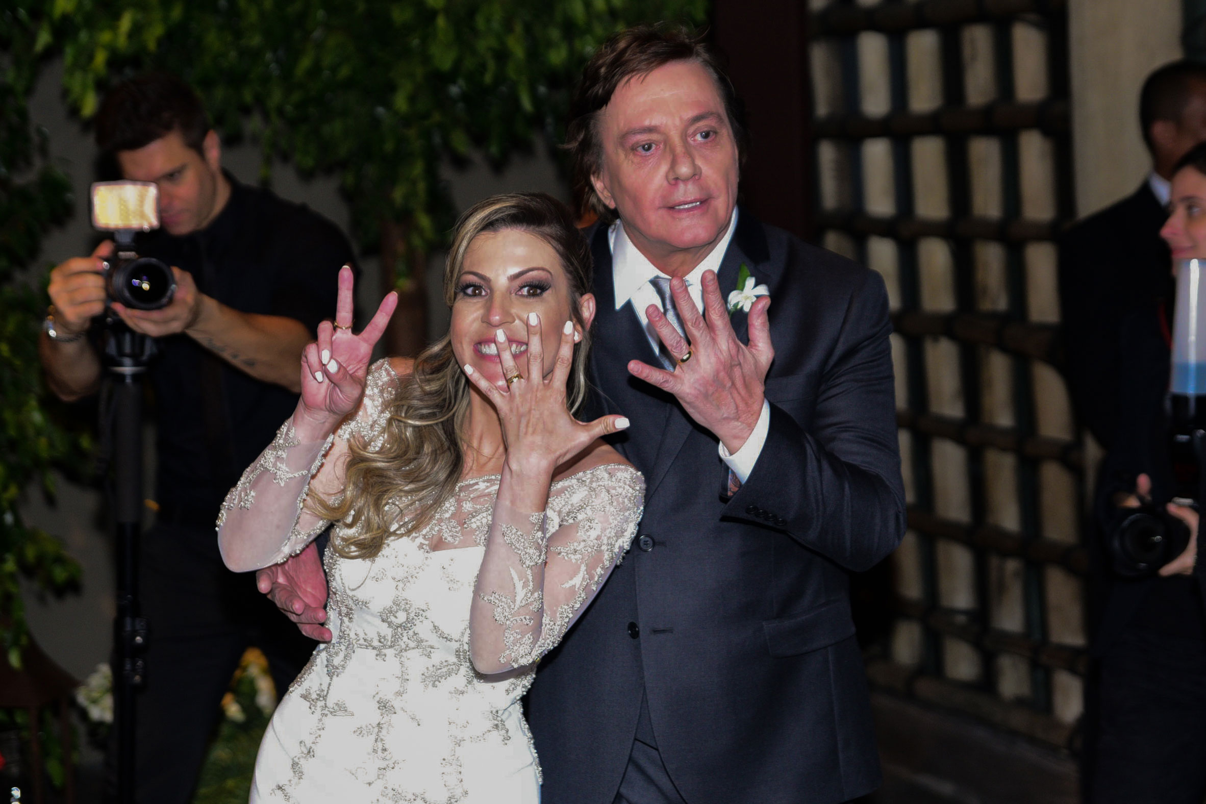 Veja as fotos do casamento do casamento de Fábio Jr. e Fernanda Pascucci