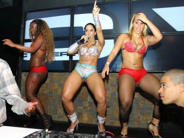 mulheres porto dançando funk
