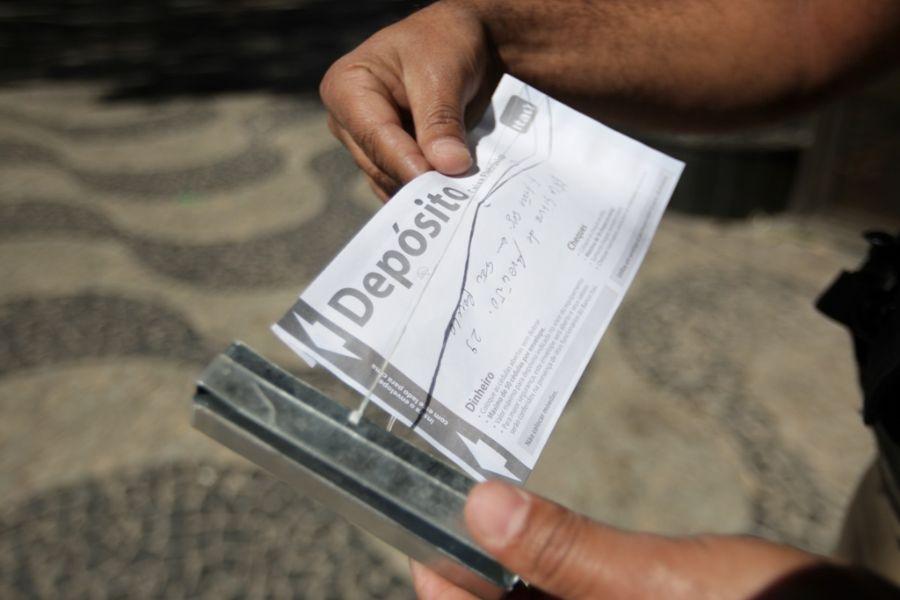 Criminosos alegam que depósito foi realizado com quantia destinada aos fornecedores / Alex de Jesus/Estadão Conteúdo