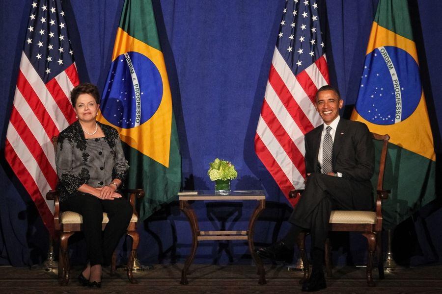 Dilma se reuniu com Obama hoje, nos EUA / Roberto Stuckert Filho/PR