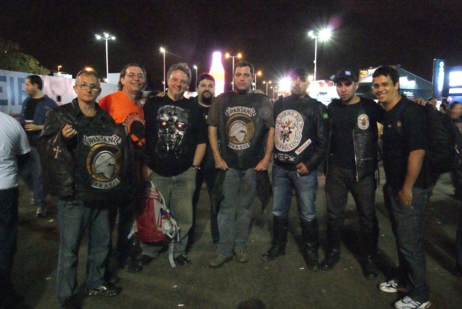 O grupo veio de São Paulo  / Foto: Roberto Saraiva/band.com.br