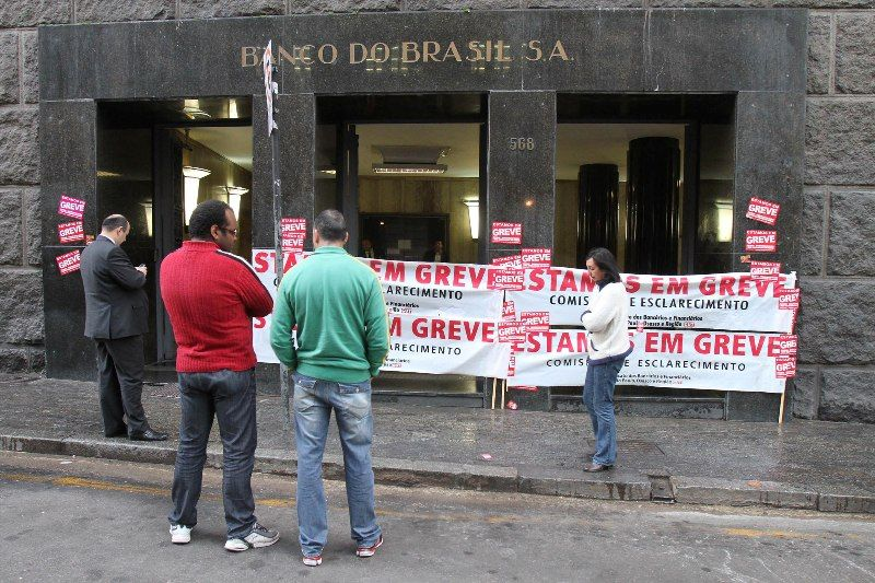 Bancários continuam em greve nesta quarta-feira  / Luiz Guarnieri/ Futura Press