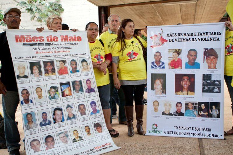 Protesto foi realizado no local onde existia a antiga Casa de Detenção, local do massacre em 1992  / Rodrigo Dionisio/ Frame/ AE