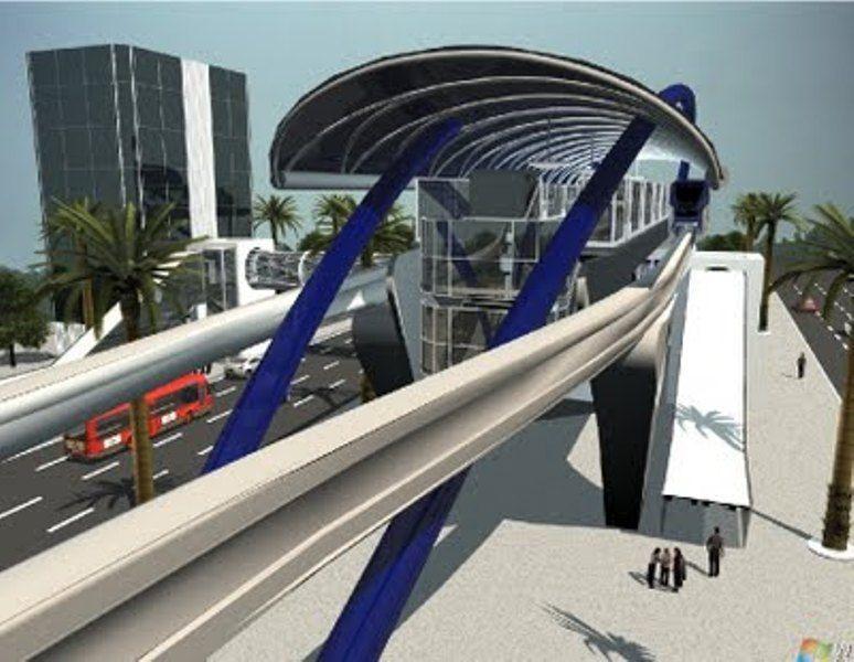 Linha 17-Ouro do metrô terá 7,7 km e 8 estações / Divulgação