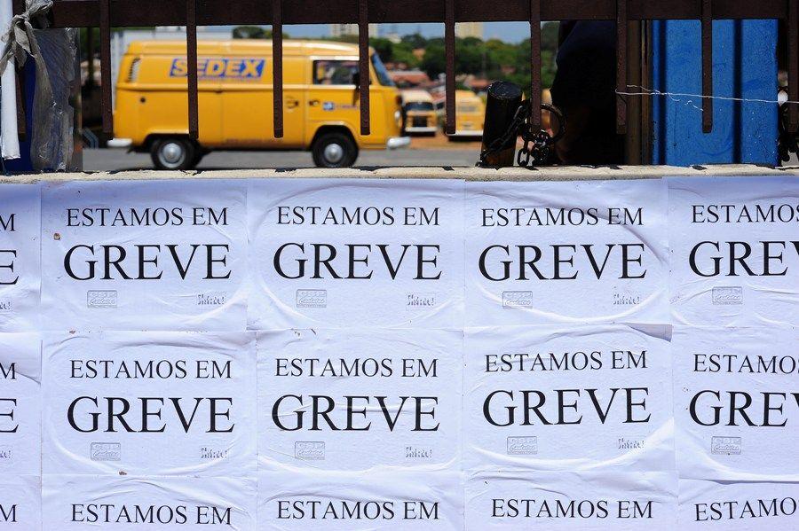 Movimento no Centro de Distribuição dos Correios em São José dos Campos, interior paulista, nesta sexta-feira (07) / Lucas Lacaz Ruiz/AE