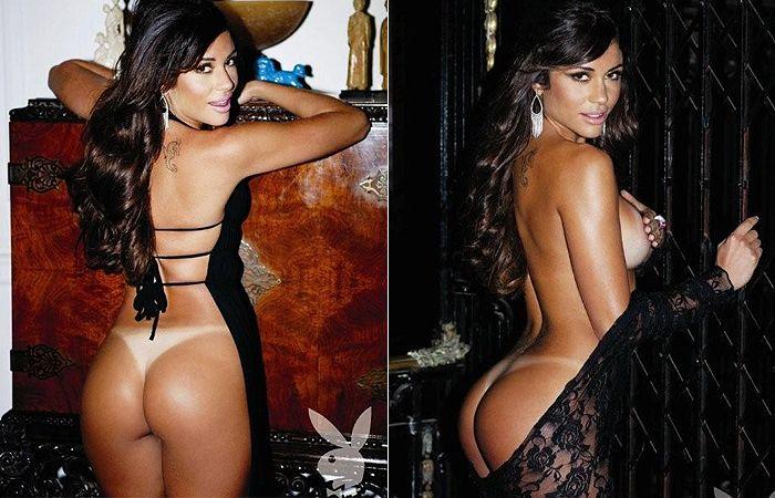 Maria mostra todas as suas curvas / Divulgação/Playboy