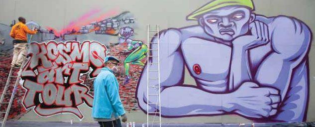 Obras de artistas franceses e belgas compõe exposição / Reprodução/Metro