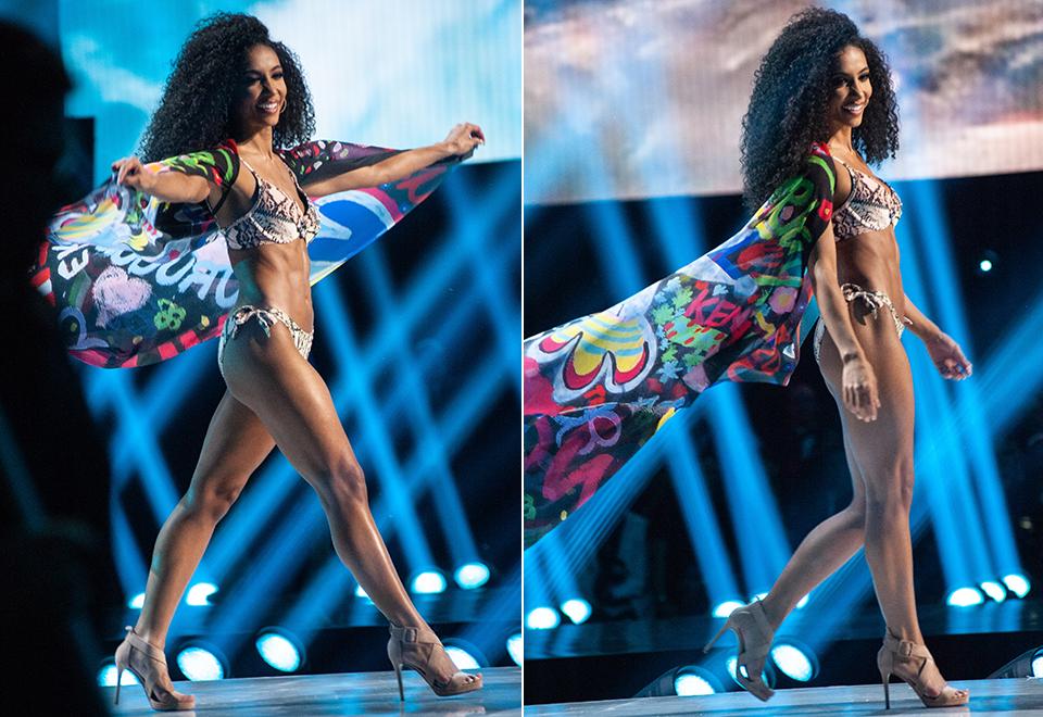 Top 10 do Miss Universo 2019 esbanja beleza de biquíni