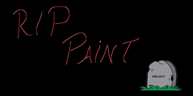 32 anos de Paint: internet lamenta fim do programa