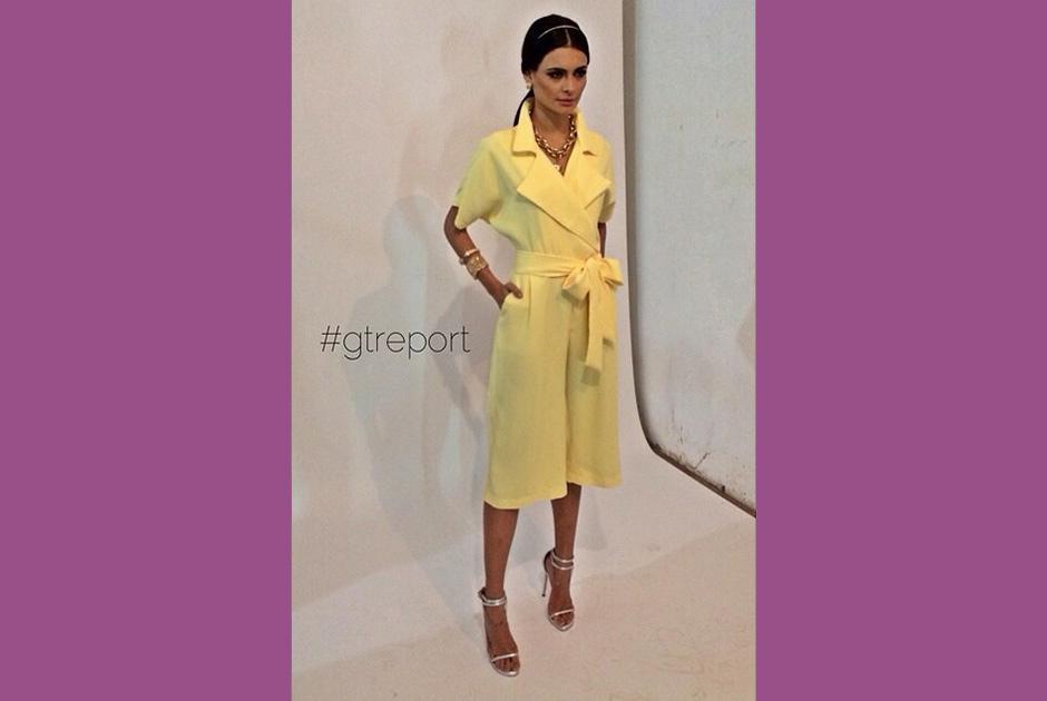 Registro do ensaio para a Emp�rio Anna foi not�cia no portal GTReport. A modelo da campanha? Beatrice Fontoura, a Miss Goi�nia 2014.