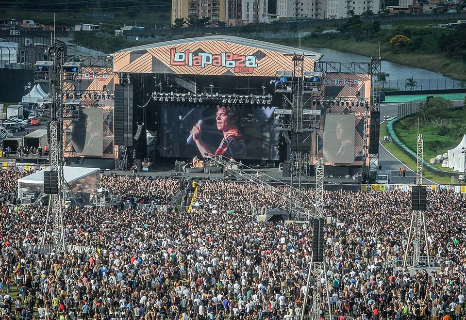 Lollapalooza leva multidão para Interlagos