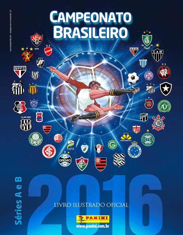 Álbum do Brasileirão terá atualização de elenco