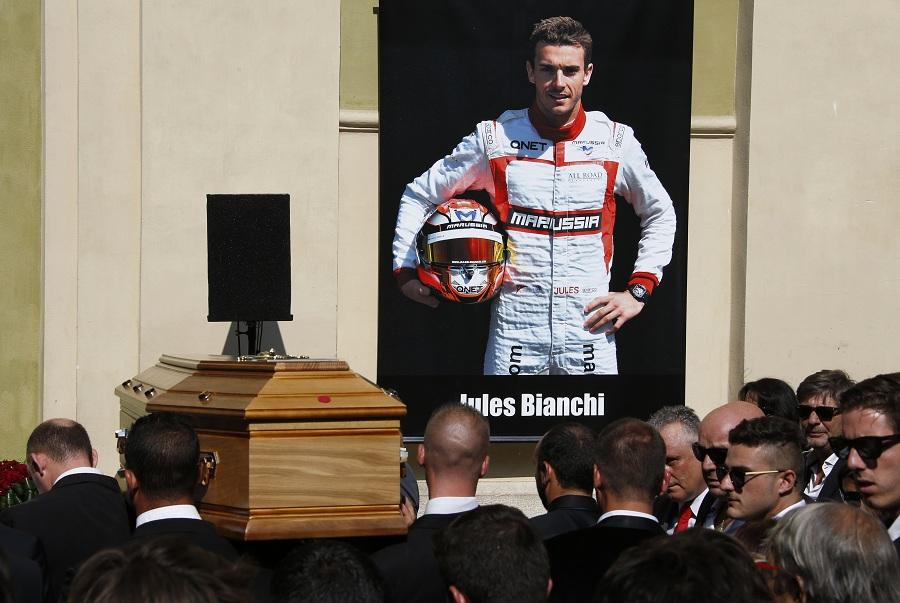 Fórmula 1 se despede de Jules Bianchi