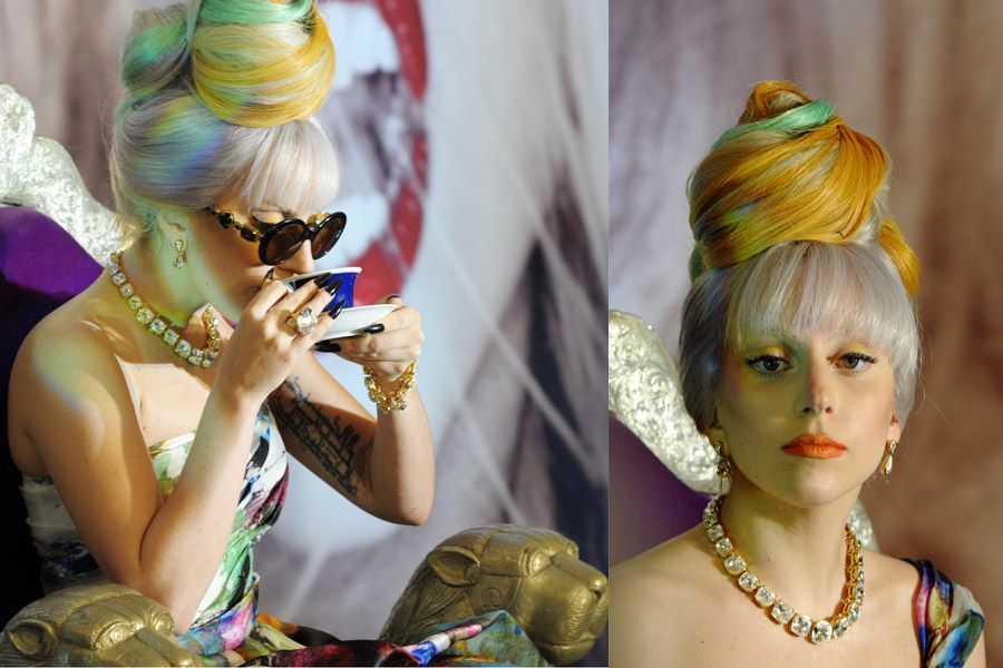 Lady Gaga fará show na Índia no domingo / Roberto Schmidt/AFP