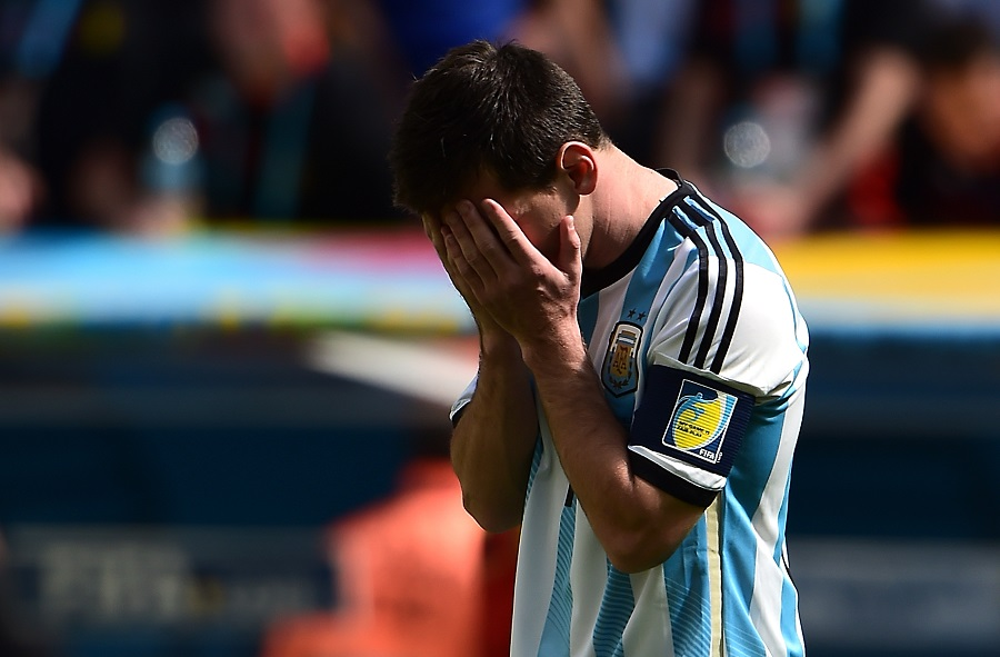 Messi se concentra