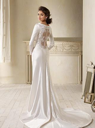 A marca Alfred Angelo produziu uma cópia do vestido usado por Bella no casamento com Edward / Divulgação/Alfred Angelo