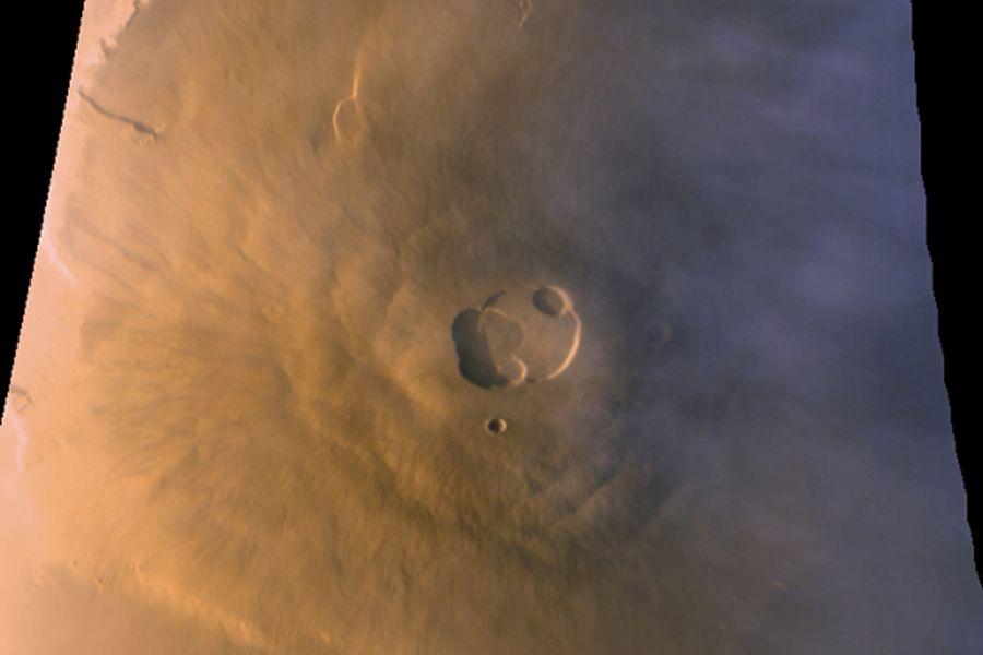 O Olympus Mons é um dos pontos mencionados pelo cientista / NASA