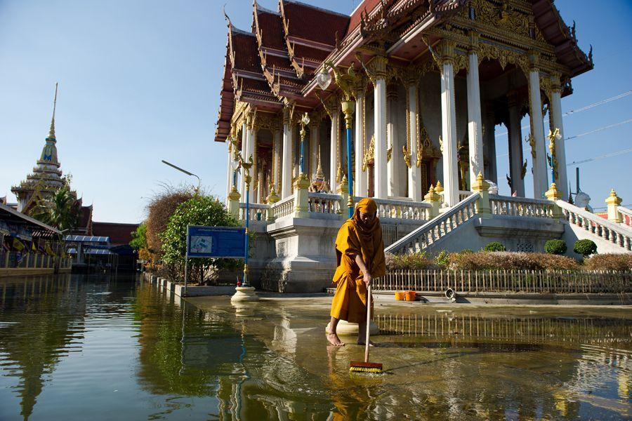 A enchente foi a mais grave em 50 anos / Nicolas Asfouri/AFP