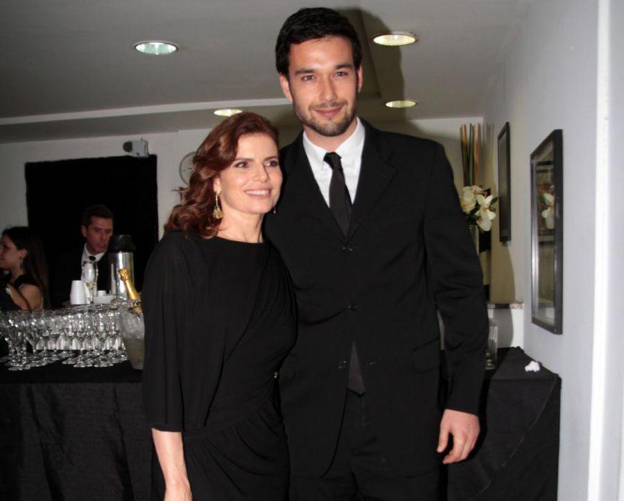 Debora Bloch e Olivier Anquier d Bora Bloch e Marone Estavam