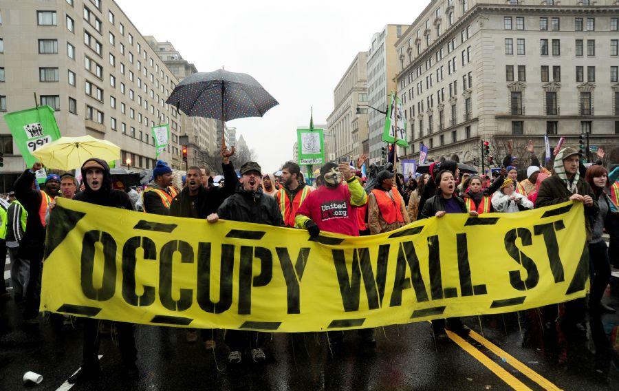Occupy Wall Street comemora um ano - Notícias - Notícias - Band.com.br