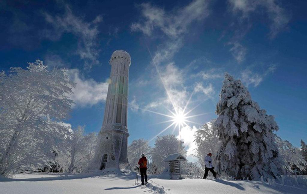 Inverno congela Hemisfério Norte