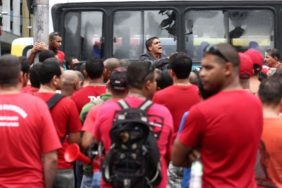 Em junho de 2011, os bombeiros realizaram uma paralisação no Rio de Janeiro / Guto Maia/News Free/AE/Arquivo