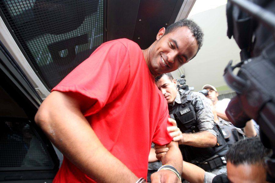 Bruno saiu nesta terça-feira da cadeia para depor / Cristiano Trad/Futura Press