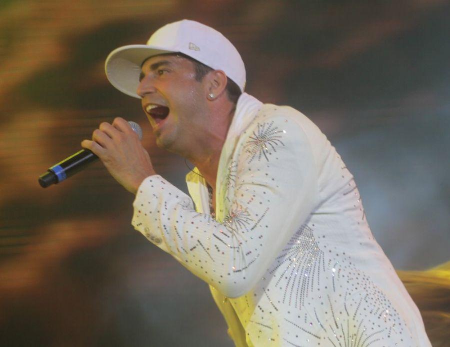 Latino: show salgado / André Muzell/AgNews