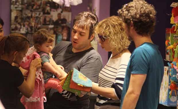 Marília Gabriela e família