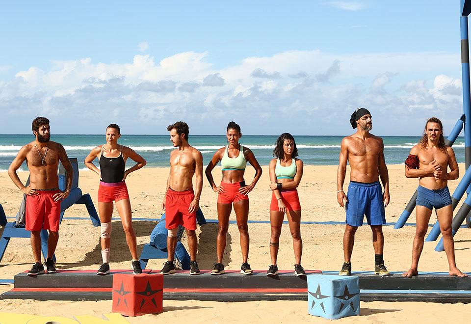 Competidores se juntam na reta final do programa