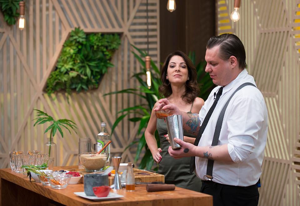 Drinks viram inspiração para criação de pratos