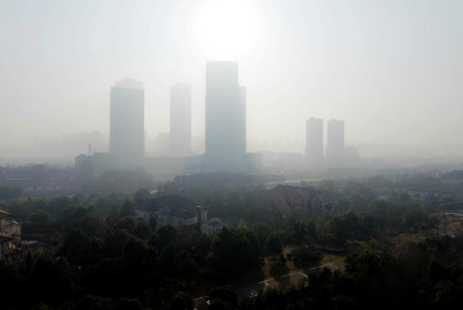 China, um país imerso na poluição