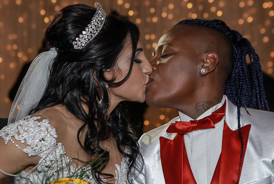 Pepê, da dupla Pepê & Neném, se casa com a noiva grávida em festa de R$ 300 mil
