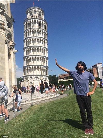 Turista pede ajuda para editar sua foto na Torre de Pisa; veja os resultados