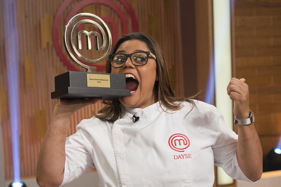 Dayse Paparoto foi a vencedora da primeira temporada profissionais