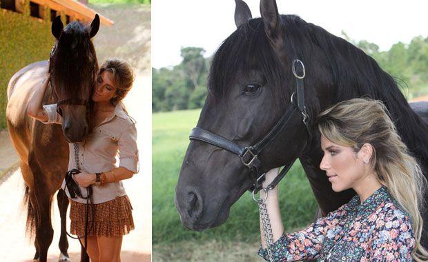 Giovanna Ewbank exibiu sua beleza em clima bucólico / Divulgação/SMK
