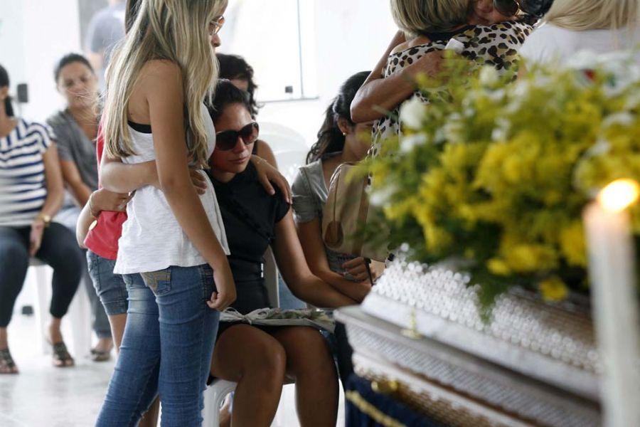 Jakeline lamenta morte do ex-namorado / Luiz Tito/Futura Press