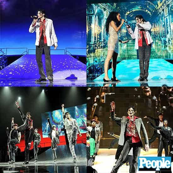 Espetáculo recria show de Michael Jackson  F_8377