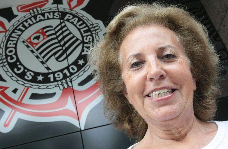 Marlene Matheus reclama que atual diretoria terceirizou o clube e só dá prejuízo / Arquivo/AE