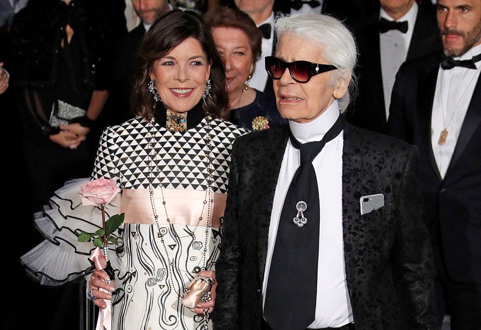 Karl Lagerfeld organiza baile da princesa de Mônaco