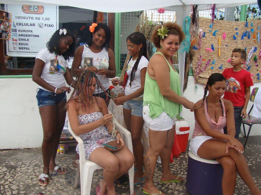 Por aqui a parada da beleza é obrigatória / Tatiane Moreno/band.com.br