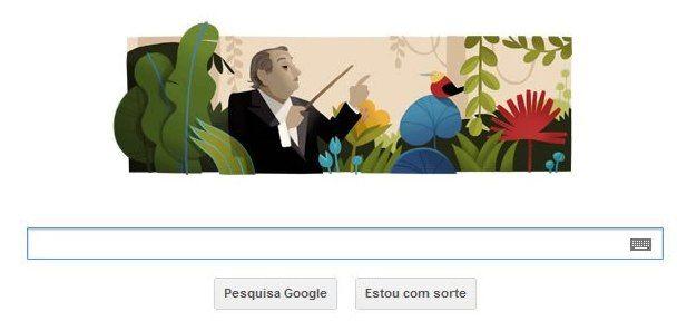 """O compositor, que é conhecido como um revolucionário que provocou um """"rompimento"""" com a música acadêmica no Brasil, compôs mais de mil obras / Reprodução/ Google"""