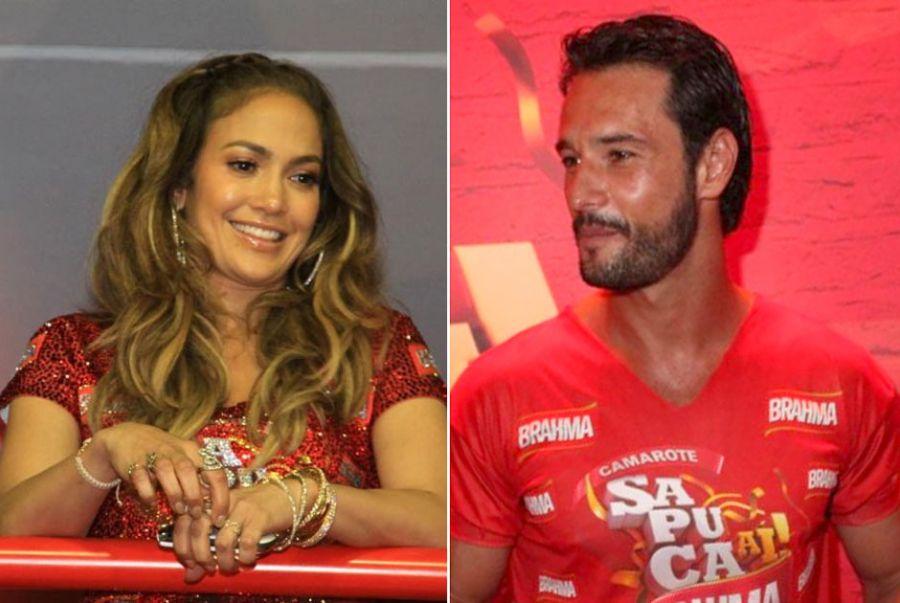 J. Lo e Santoro curtiram o Carnaval no Brasil / Francisco Silva/AgNews/Fabio Martins/AgNews