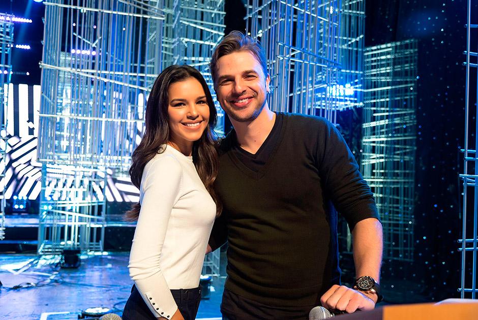 Cássio Reis e Mariana Rios comandam ensaio geral do Miss São Paulo