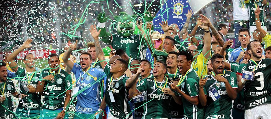 Palmeiras é campeão brasileiro após 22 anos